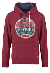 Petrol Industries Hoodie Light Burgundy Bordeaux