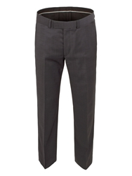 Alexandre Savile Row Pindot Regular Fit Trouser Charcoal