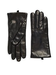 Saks Fifth Avenue Leather Gloves Brown