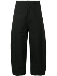 Henrik Vibskov Return Cropped Trousers Black