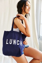 Urban Renewal Remade Take Along Lunch Tote Bag Washed Black