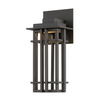 W.A.C. Lighting Nest Led Outdoor Wall Light Brown