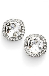 Women's Givenchy Pave Stud Earrings