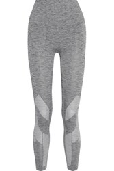 Lndr Six Eight Stretch Knit Leggings Gray