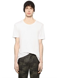 Blk Dnm Essential Cotton Jersey T Shirt