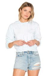 Cotton Citizen The Milan Cropped Pullover Blue