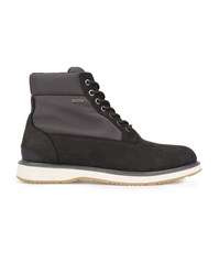 Swims Grey And Black Waterproof High Top Barry Boots