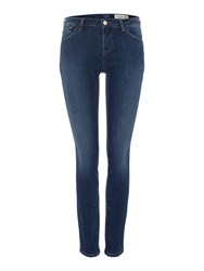 Armani Jeans J23 Lily Push Up Skinny Jean Denim Dark Wash