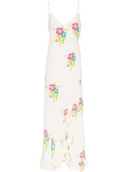 All Things Mochi Melanie Floral Print Maxi Dress Multicolour
