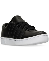 K Swiss Women's The Classic 88 Qtm Casual Sneakers From Finish Line Black White