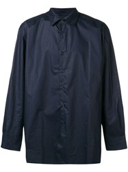 Casey Casey Loose Fit Shirt Blue
