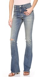 Citizens Of Humanity Sasha Twist Low Slung Flare Jeans Straight Up