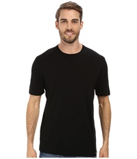 Smartwool Fish Creek Solid Tee Black Men's Short Sleeve Pullover