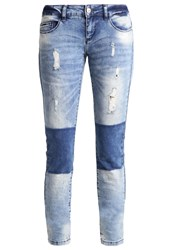 Only Onlcoral Slim Fit Jeans Light Blue Denim Light Blue Denim