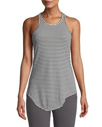 Frank And Eileen Tee Lab Base Layer Striped Scoop Neck Tank Gray Pattern