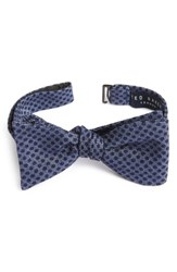 Ted Baker Men's London Dot Wool And Silk Bow Tie