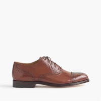 J.Crew Ludlow Semi Brogue Oxfords English Tan