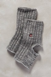 Stance Ribbed Yoga Socks Dark Grey