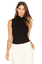 Gettingbacktosquareone The Sleeveless Turtleneck Black