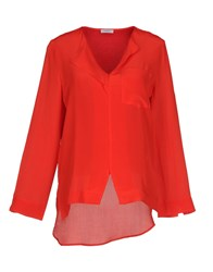 Marella Blouses Red