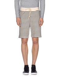 S.O.H.O New York Soho Trousers Bermuda Shorts Men Ivory