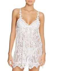 Jonquil Lace Chemise And Thong Set Ivory