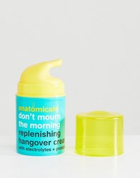 Anatomicals Don't Mourn The Morning Hangover Moisturiser 50Ml Hangover Moisturiser Clear