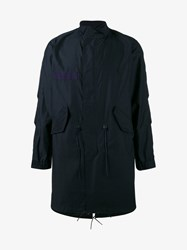 Sophnet. Stand Collar Military Jacket Blue