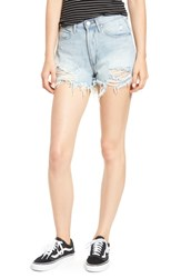 Articles Of Society Meredith Cutoff Denim Shorts Mykonos