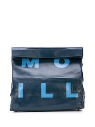 Simon Miller Large Lunch Clutch Blue