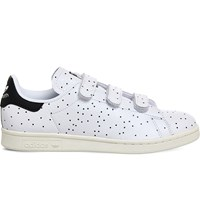 Adidas Stan Smith Cf Polka Dot Leather Trainers Black Polka Dot