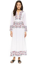 Antik Batik Daylee Long Dress White