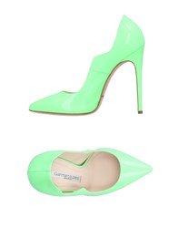 Gianmarco Lorenzi Pumps Light Green