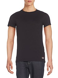 Superdry Cotton Crewneck Tee Black
