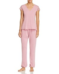 Josie Long Pj Set Heather Mauve