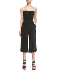 Elizabeth And James Eri Strapless Wide Leg Jumpsuit