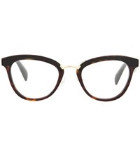 Prada Cat Eye Glasses Brown