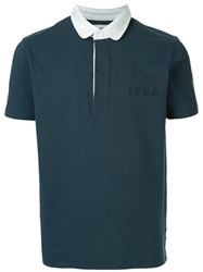 Kent And Curwen 3 Lions Polo Shirt Blue
