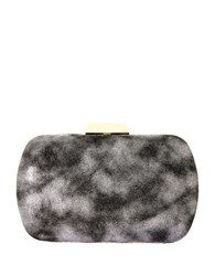 Natasha Solid Convertible Clutch Pewter Combo