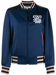 Kenzo Embroidered Detail Bomber Jacket 60