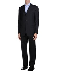 Belvest Suits And Jackets Suits Men Steel Grey