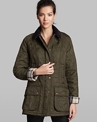 Barbour Jacket Beadnell Polar Quilted Olive
