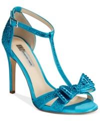 Inc International Concepts Women's Reesie Rhinestone Bow Evening Sandals Only At Macy's Women's Shoes