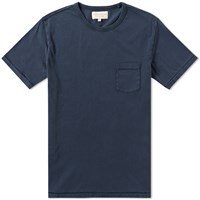 Hawksmill Denim Co. Pocket Tee Blue