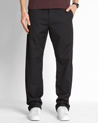 Carhartt Black Wash Dunmore Station Straight Fit Chinos