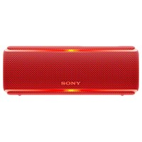 Sony Srs Xb21 Extra Bass Waterproof Bluetooth Nfc Portable Speaker With Led Ring Lighting Red