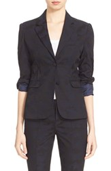 Women's Atm Anthony Thomas Melillo Camo Jacquard Blazer
