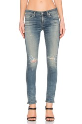 Citizens Of Humanity Racer Premium Vintage Low Rise Skinny On The Mend