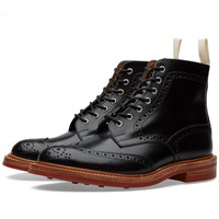 Trickers End. X Tricker's Club Sole Stow Boot Black