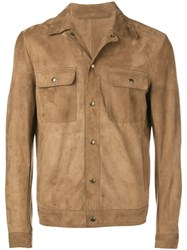 Salvatore Santoro Shirt Jacket Brown
